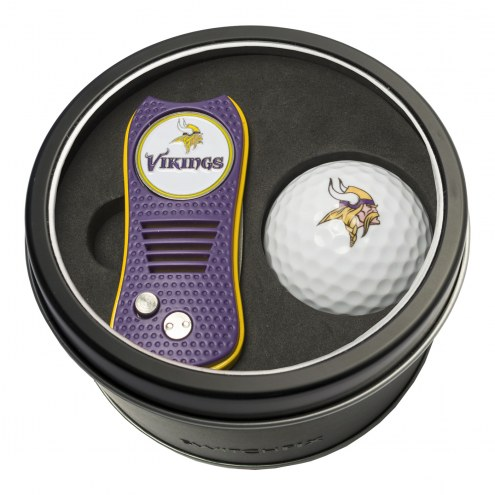 Minnesota Vikings Switchfix Golf Divot Tool & Ball