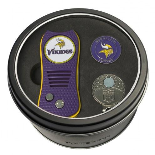 Minnesota Vikings Switchfix Golf Divot Tool, Hat Clip, & Ball Marker