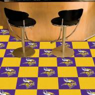 Minnesota Vikings Team Carpet Tiles