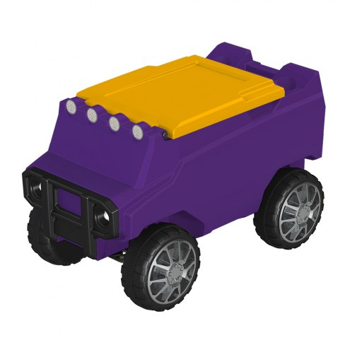 Minnesota Vikings Team Color Remote Control Rover Cooler