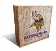 Minnesota Vikings Team Logo Block