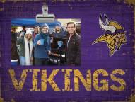 Minnesota Vikings Team Name Clip Frame