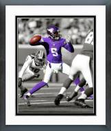 Minnesota Vikings Teddy Bridgewater Spotlight Action Framed Photo