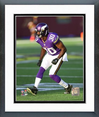 Minnesota Vikings Terrence Newman Action Framed Photo