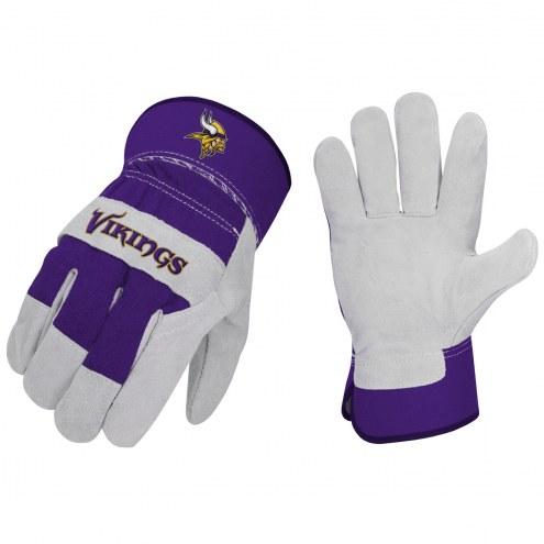 Minnesota Vikings The Closer Work Gloves