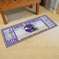 Minnesota Vikings Ticket Runner Rug