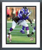 Minnesota Vikings T.J. Clemming Action Framed Photo