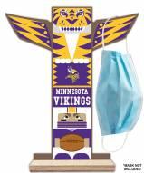 Minnesota Vikings Totem Mask Holder