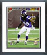 Minnesota Vikings Trae Waynes Action Framed Photo
