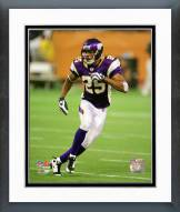 Minnesota Vikings Tyrell Johnson 2008 Action Framed Photo