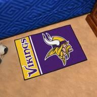 Minnesota Vikings Uniform Inspired Starter Rug