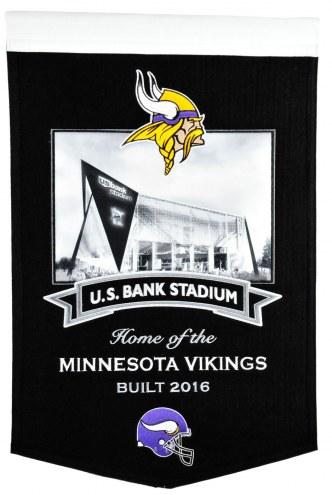 Minnesota Vikings US Bank Stadium Banner