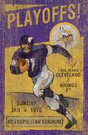 Minnesota Vikings Vintage Wall Art