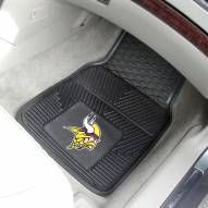 Minnesota Vikings Vinyl 2-Piece Car Floor Mats