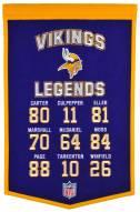 Minnesota Vikings Legends Banner