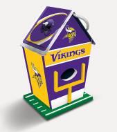 Minnesota Vikings Wood Birdhouse