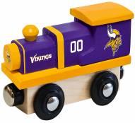 Minnesota Vikings Wood Toy Train