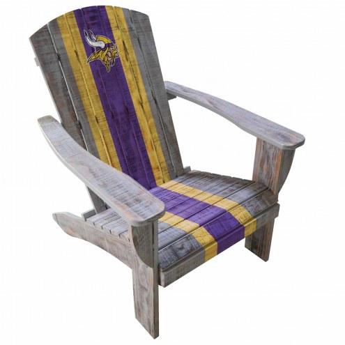 Minnesota Vikings Wooden Adirondack Chair