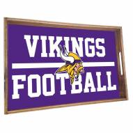 Minnesota Vikings Wooden Serving Tray