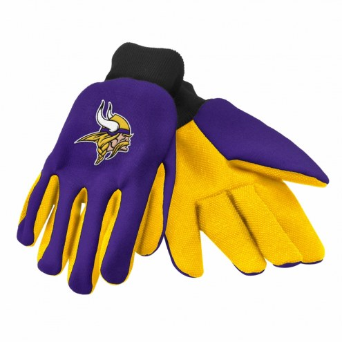 Minnesota Vikings Work Gloves