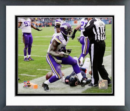 Minnesota Vikings Xavier Rhodes Action Framed Photo