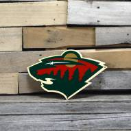 "Minnesota Wild 12"" Steel Logo Sign"