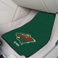 Minnesota Wild 2-Piece Carpet Car Mats