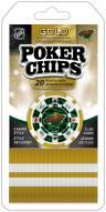 Minnesota Wild 20 Piece Poker Chips Set