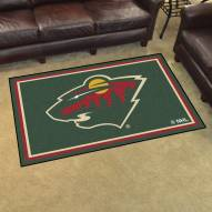 Minnesota Wild 4' x 6' Area Rug