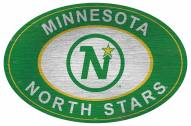 "Minnesota Wild 46"" Heritage Logo Oval Sign"