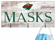 "Minnesota Wild 6"" x 12"" Mask Holder"