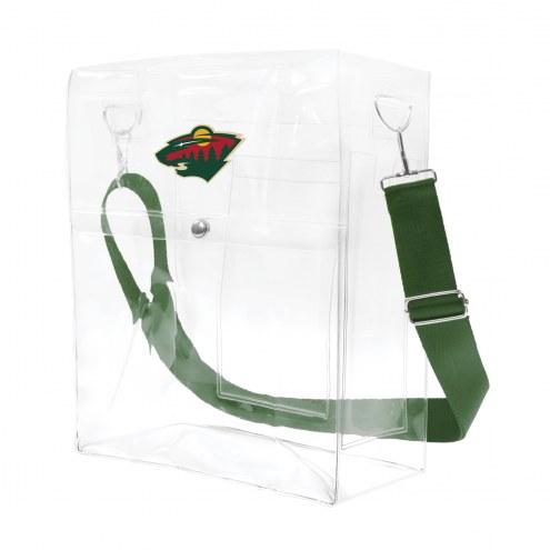 Minnesota Wild Clear Ticket Satchel