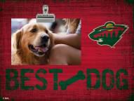 Minnesota Wild Best Dog Clip Frame