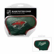 Minnesota Wild Blade Putter Headcover