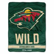 Minnesota Wild Break Away Blanket