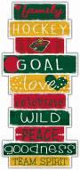 Minnesota Wild Celebrations Stack Sign