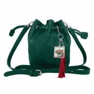 Minnesota Wild Charming Mini Bucket Bag