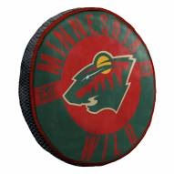 Minnesota Wild Cloud Travel Pillow