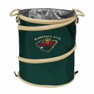 Minnesota Wild Collapsible Laundry Hamper