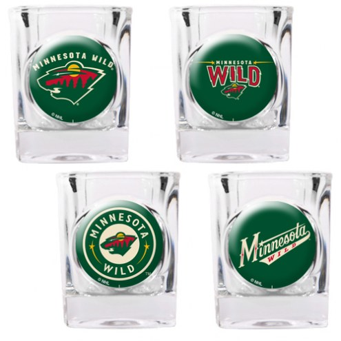 Minnesota Wild Collector's Shot Glass Set