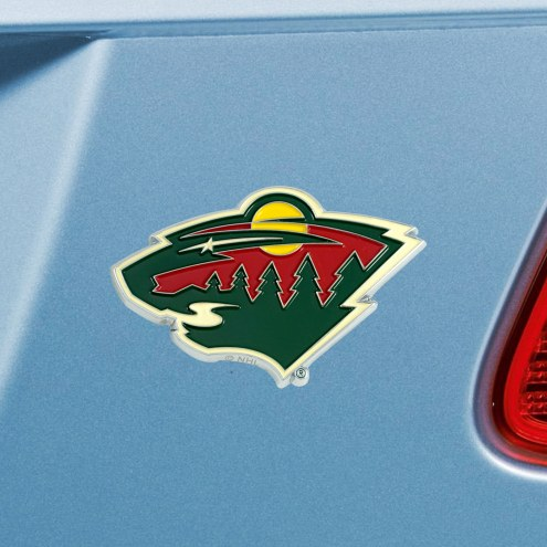 Minnesota Wild Color Car Emblem
