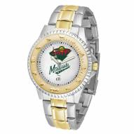 Minnesota Wild Competitor Two-Tone Men's Watch