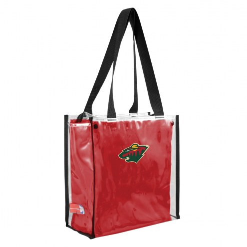Minnesota Wild Convertible Clear Tote