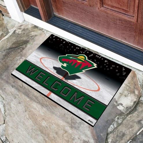 Minnesota Wild Crumb Rubber Door Mat