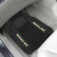 Minnesota Wild Deluxe Car Floor Mat Set