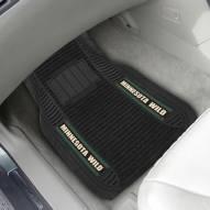 Minnesota Wild Deluxe Car Floor Mat Set