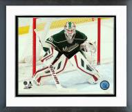 Minnesota Wild Devan Dubnyk Action Framed Photo