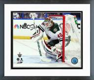 Minnesota Wild Devan Dubnyk Playoff Action Framed Photo