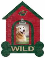 Minnesota Wild Dog Bone House Clip Frame