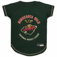 Minnesota Wild Dog Tee Shirt